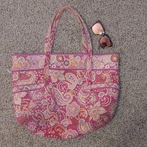 Vera Bradley Paisley Flora Large Weekend Size Bag